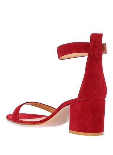 Gianvito Rossi Ayakkabı Bordo